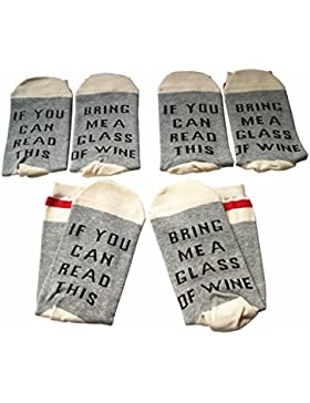 Bepo Soft unisex sock IF You Can Read This PLEASE Bring Me Some Socks (3 Pairs)