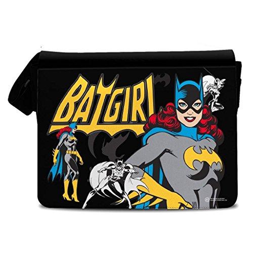 Sac à livres officiel DC Comics Batgirl Retro Comic Style école Messenger College