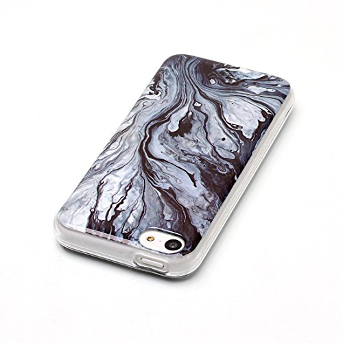 Lotuslnn iPhone 5/5s/SE Conque- Anti-Scratch Protection Etui Pour iPhone 5/5s/SE TPU Silicone Soft Cover iPhone 5/5s/SE( Coque, Stylus Pen ,Screen Protector )-Multicolored Ink