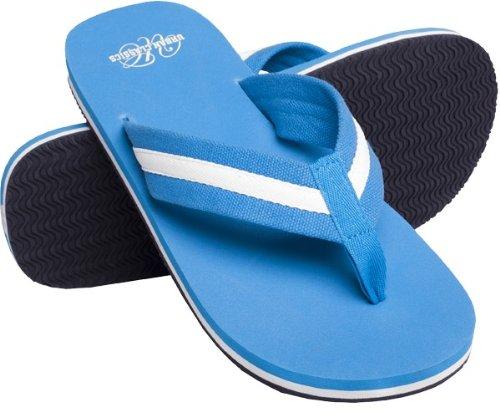 Urban Classics Beach Slippers, Farbe:tur/wht;Größe:37