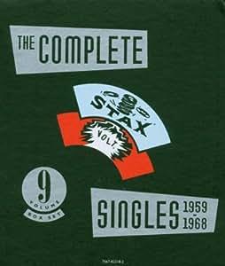The Complete Stax / Volt Soul Singles Vol.1 : 1959-1968 (Collection Antholigie et Intégrale, coffret 9 CD)
