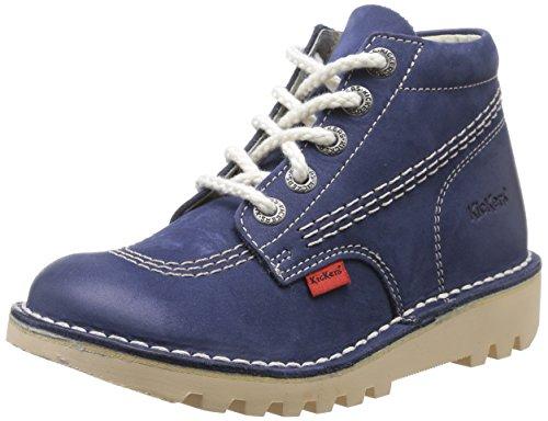 Kickers Neorallye Jungen Stiefel Blau (Marineblau)