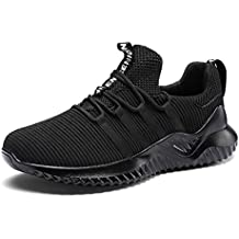 MAXTOP Zapatillas de Running Hombre Correr Sneakers Transpirables Zapatos Casual Respirable Deportes Gimnasio Aire Libre