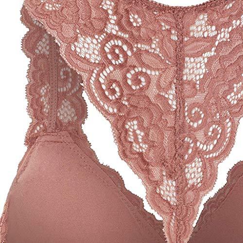Styledress Frauen-Damenmode-Ausdehnungs-Blumenspitze höhlen heraus BH-Bralette-Alltags-BHS aus - 5