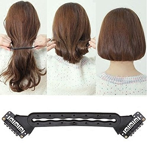 SwirlColor Langes Haar becomming bob Magic Hair Stick-Haarnadeln Haar-Brötchen-Hersteller-Lockenwickler-Haar Twist Wand