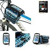 Fahrrad Rahmentasche für Allview P8 eMagic,