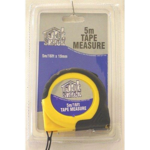 TOOL Shack Professionelles Hand Tools Qualität Maßband 5m/16ft 19mm (Wie Lesen, Maßband Ein Zu)