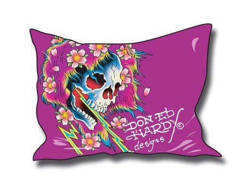 Ed Hardy Beautiful Ghost (Ed Hardy Kissenbezug Beautiful Ghost 50x70cm)