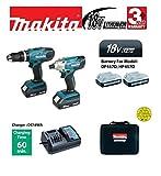 Makita 18V Cordless Twin Set - Combi Drill and Impact Driver
