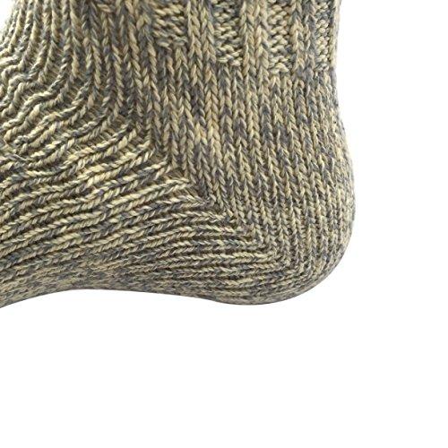 Trachtenstrümpfe, Trachtensocken, Socken, Kniestrümpfe mit Zopfmuster in verschiedenen Farben, von CHARLLEAN (39-42, Beige) - 5