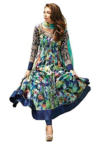 Fancy Wear Women\'s Multi Banglory Indo-Western Long Cholis [SL 39 (FWH_24)]