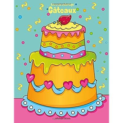 Livre de coloriage Gâteaux 1