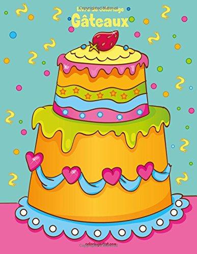 Livre de coloriage Gâteaux 1 par  Nick Snels