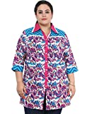 Cool Front Open Collared Kurti XX-Large