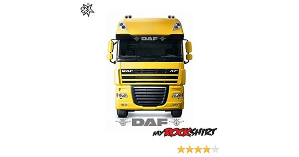 Myrockshirt Dafaufkleber Logo 80cm Lkw Truck Trucker Aufkleber Anhänger Sticker Bonus Testaufkleber Estrellina Glückstern Gedruckte Montageanleitung Versand Erfolgt Aus Deuts Auto