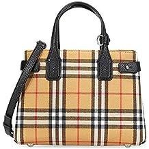 48e54bca4d4fd BURBERRY Handtasche Damen Tasche Damenhandtasche Tote Bag Banner Braun