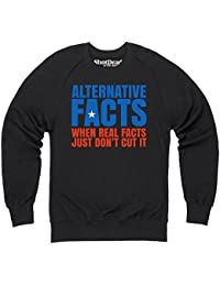 Alternative Facts Sweatshirt mit Rundhals, Herren