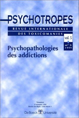 Les psychotropes, mars 1999 par Pierre Angel