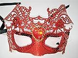 Damen Glitzer Halb Face Masquerade Ball Speedo Glitzer/Strasssteinen Taucherbrille/sequin-...