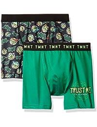 Nickelodeon Boys' Teenage Mutant Ninja Turtles 2-pack Boxer Briefs
