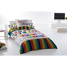 Funda nórdica Algodón 100% PUZZLE (Para cama de 90x190/200 (Nórdico de 150))