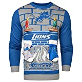 Forever Collectibles NFL Detroit Lions Ugly 3D Sweater, Small