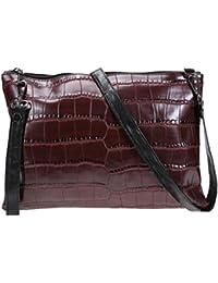 Zibuyu Women Satchel Handbags PU Leather Clutch Crossbody Messenger Shoulder Bags