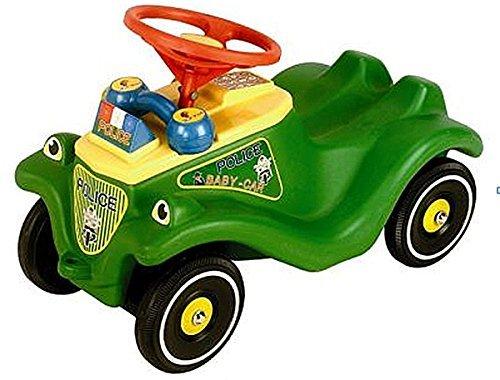 Bobby Car Polizei grün