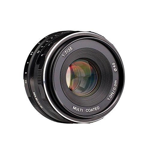 Meike MK 35mm f 1.7 Large Aperture Manual Focus Lens APS-C for Fujifilm X-Mount Mirrorless Camera