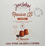 Jones Brothers Enigma Premium Espresso Kapseln, 2 x 50 Stück, 100% Arabica Kaffee, passend für Nespresso Maschinen