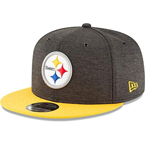 New Era NFL Pittsburgh Steelers Authentic 2018 Sideline 9FIFTY Snapback Home Cap, Größe :M/L (New Cap Era Home)