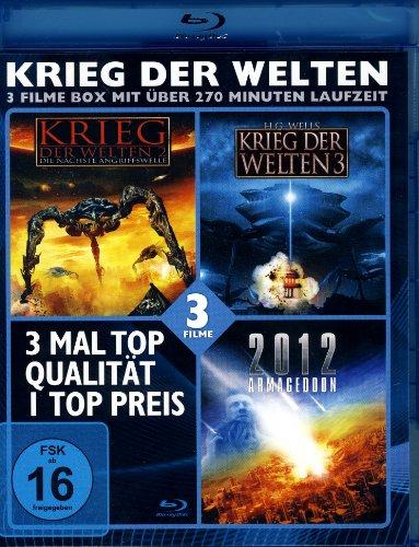 Bild von KRIEG DER WELTEN - 3 Filme Blu-ray Box (Krieg der Welten 2 +3; 2012 Armageddon)