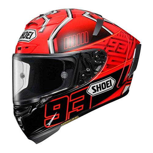 Shoei X-Spirit 3 Marquez Motorcycle Helmet S Red Black