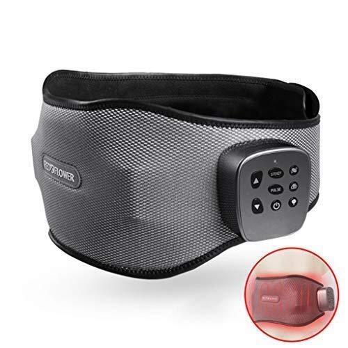 LIAN Heizung Gürtel, elektrische Heizband for den unteren Rücken, Lendengürtel mit Klettverschluss