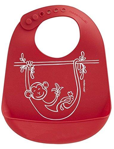 Modernen Twist (modern-twist Baby-Wanne Bibz AFFE-Geschäft, Silikon, red, 1.12 x 1.12 x 1.12 cm)