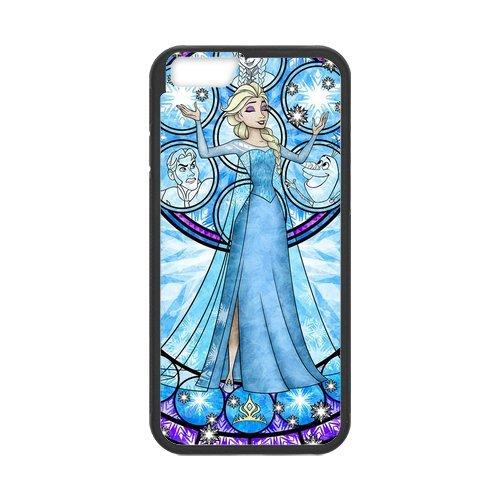 """Etui pour iPhone 6S (4,7""""inch), TPU Soft Shell pour iPhone6(4.7inch), Apple iPhone 6S Hard Case, iPhone 6Etui, Disney Frozen, Elsa, Anna, Olaf Étui de protection à rabat pour iPhone"""