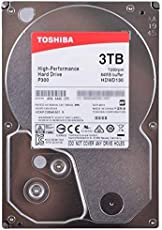 TOSHIBA P300 Interne Festplatte 3 TB – 3,5 Zoll (8,9 cm) – SATA Festplatte intern (HDD) – 7200 rpm (U/min) – 6 Gb/s – für Gaming-Computer, Desktop-PCs, Workstations etc.