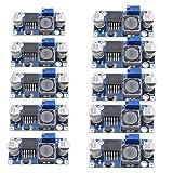 10x Demarkt Stromversorgungsmodul Power Module Einstellbare Buck-Modul Blau LM2596S-ADJ 1.5-35V 3A 43mmx21mmx14mm