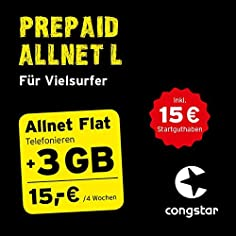 congstar Prepaid Allnet L...
