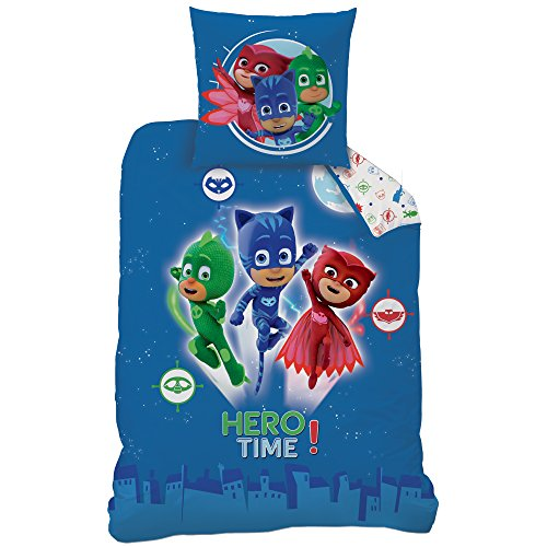 PJ Masks Kinder Bettwäsche · HERO Catboy, Owlette, -