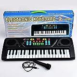 TXXCI 37 37 Key Multifunktions-Keyboard Piano Play Klavier Orgel mit Mikrofon Pädagogisches Spielzeug für Kinder