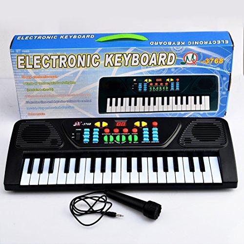 TXXCI 37 37 Key Multifunktions-Keyboard Piano Play Klavier Orgel mit Mikrofon Pädagogisches Spielzeug für Kinder Kinder Spielzeug Banjo