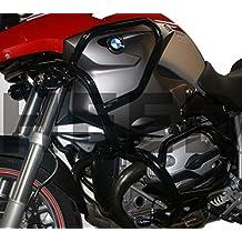 Defensa protector de motor Heed BMW R 1200 GS (04-12) Full Bunker negro
