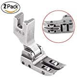 2Pcs Roller Presser Foot, Industrial Multi Function Quilting Feed Walking Nähmaschine Presser Foot DIY Tool