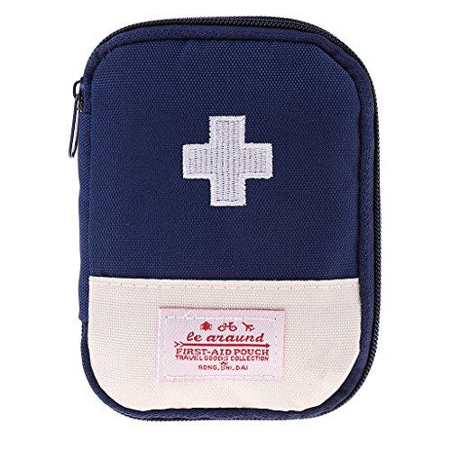 D DOLITY Erste Hilfe Tasche Leer Tasche Taktische Rucksack Notfalltasche für Outdoor - Blau