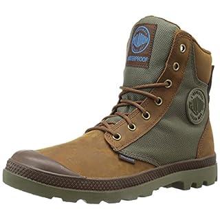 Palladium Unisex-Erwachsene Pampa Sport Cuff Wpn Combat Boots, Braun (207), 43 EU