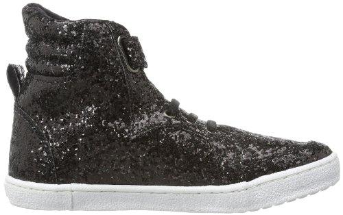 Petit by Sofie Schnoor Glitter sneakers P133606 Mädchen Skateboardschuhe Schwarz (Black Glitter)