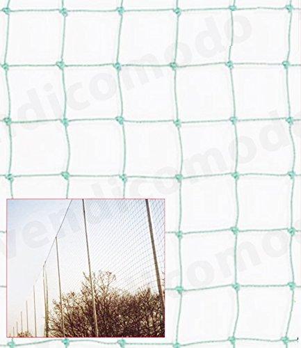 schiavi 10 15 20 25 30 35 40 Metri di Rete Protezione annodata h 4 mt 100X100 perimetro Campo Calcio Parapalloni Pallone