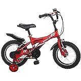 LVZAIXI Königliches Baby Bull Bulldozer-fetter Reifen-Kinderfahrrad, 18 Zoll, All-Terrain Jungen-Fahrrad für Energiekinder, BURLY Kinderfahrrad mit Stabilisatoren-Trainings-Rädern und Kickstand ( größe : 16Inch )