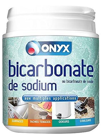 ONYX Bicarbonate de Sodium 500 g - Lot de 2